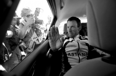 I Nagroda 53. edycji World Press Photo w kategorii: Sports Features Stories, Elizabeth Kreutz, USA, Lance Armstrong's comeback